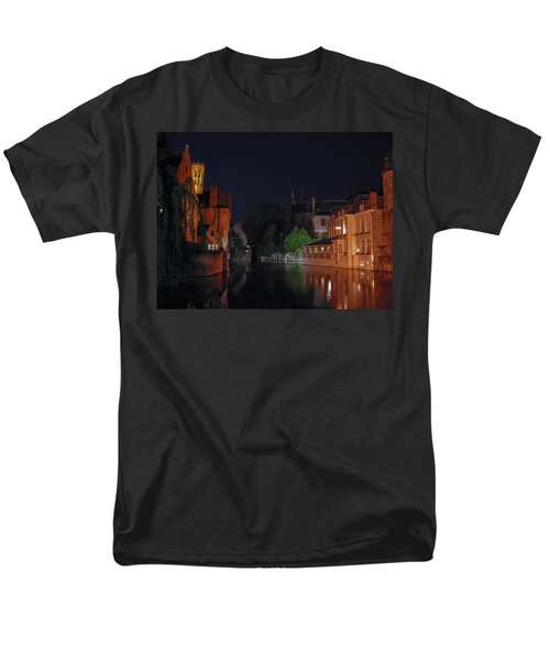Men's T-Shirt  (Regular Fit) featuring the photograph Bruges by David Gleeson