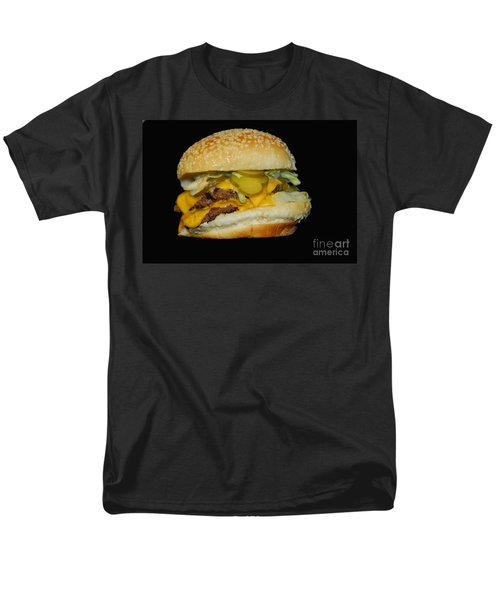 Burgerlicious Men's T-Shirt  (Regular Fit) by Cindy Manero