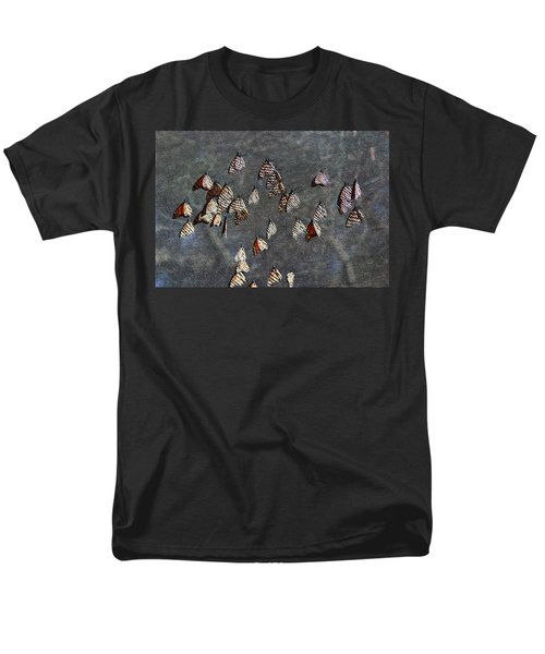 Men's T-Shirt  (Regular Fit) featuring the photograph Butterfly Gathering by Tam Ryan