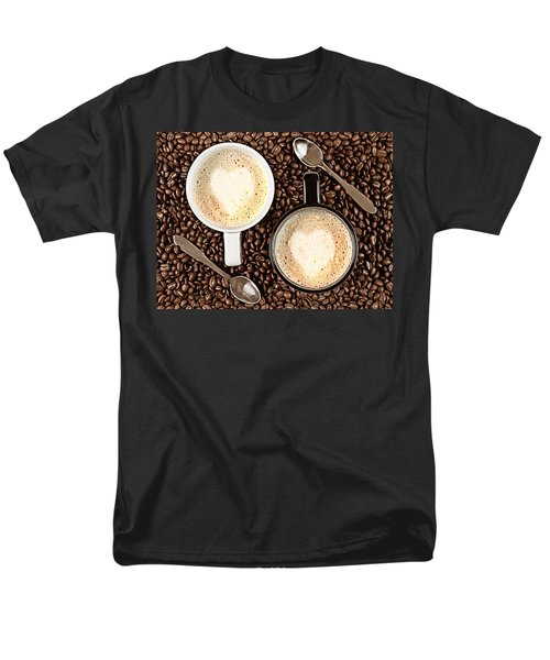 Men's T-Shirt  (Regular Fit) featuring the photograph Caffe Latte For Two by Gert Lavsen
