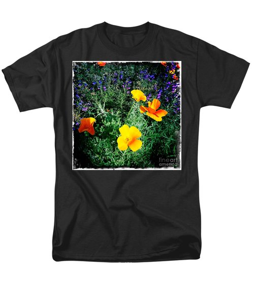 Men's T-Shirt  (Regular Fit) featuring the photograph California Poppy by Nina Prommer
