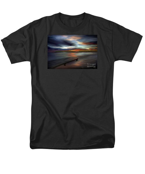 Men's T-Shirt  (Regular Fit) featuring the painting California Sky by Rand Herron