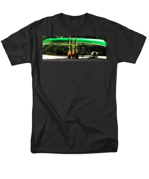 Men's T-Shirt  (Regular Fit) featuring the photograph Canoe To Nowhere by Alec Drake