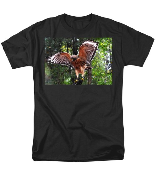 Men's T-Shirt  (Regular Fit) featuring the photograph Captivity by Lydia Holly
