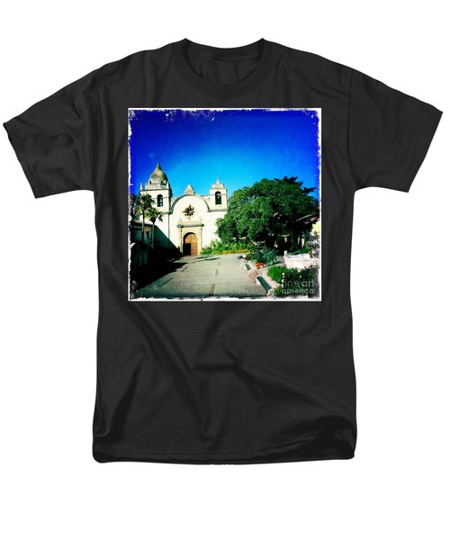 Men's T-Shirt  (Regular Fit) featuring the photograph Carmel Mission by Nina Prommer