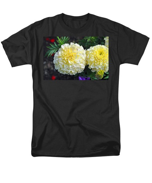 Men's T-Shirt  (Regular Fit) featuring the photograph Carnations by Tikvah's Hope