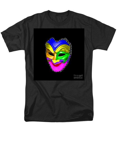 Men's T-Shirt  (Regular Fit) featuring the photograph Carnival Mask by Blair Stuart