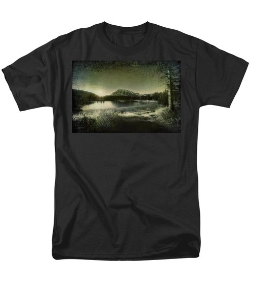 Cascade Pond Banff Men's T-Shirt  (Regular Fit) by Diane Dugas