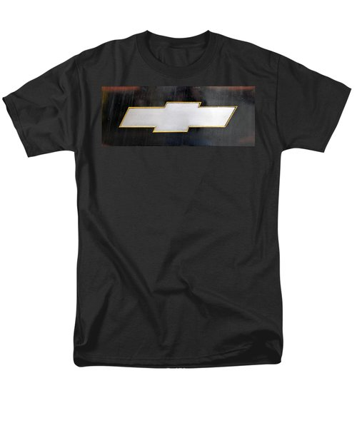 Chevy Bowtie Men's T-Shirt  (Regular Fit) by Glenn Gordon