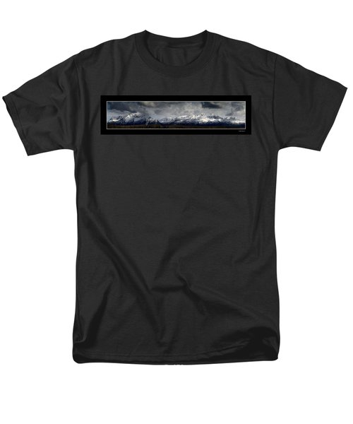 Chugach Mountains Men's T-Shirt  (Regular Fit)
