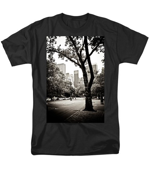 Men's T-Shirt  (Regular Fit) featuring the photograph City Contrast by Sara Frank
