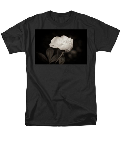 Men's T-Shirt  (Regular Fit) featuring the photograph Classic Peony by Sara Frank