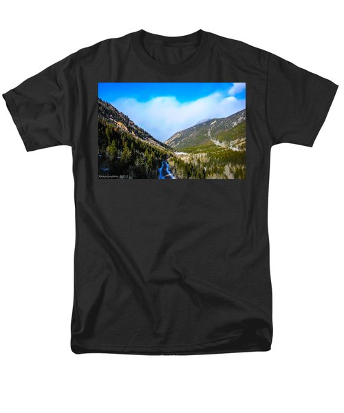 Men's T-Shirt  (Regular Fit) featuring the photograph Colorado Road by Shannon Harrington