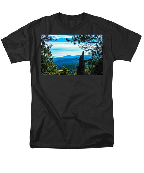Men's T-Shirt  (Regular Fit) featuring the photograph Colorado View by Shannon Harrington