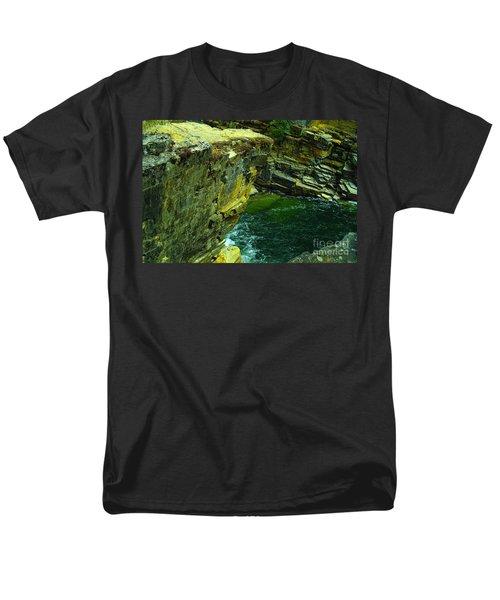 Colored Rocks  Men's T-Shirt  (Regular Fit) by Jeff Swan
