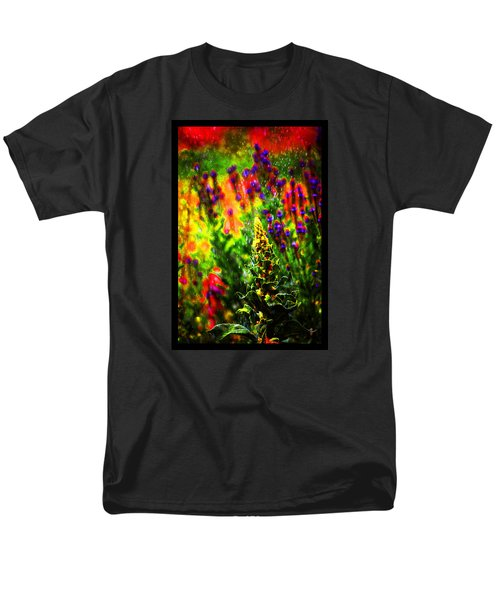 Men's T-Shirt  (Regular Fit) featuring the photograph Colors Through The Rain Iv by Susanne Still
