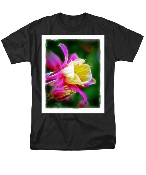 Columbine Men's T-Shirt  (Regular Fit) by Judi Bagwell