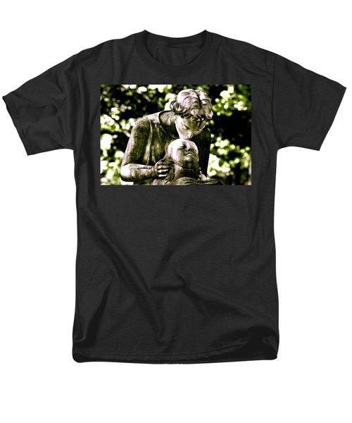 Comforted Men's T-Shirt  (Regular Fit) by Valerie Rosen
