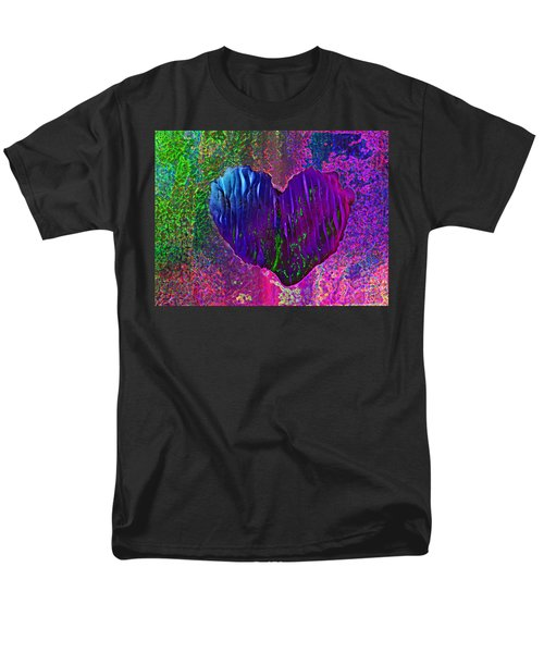 Men's T-Shirt  (Regular Fit) featuring the photograph Contours Of The Heart by David Pantuso