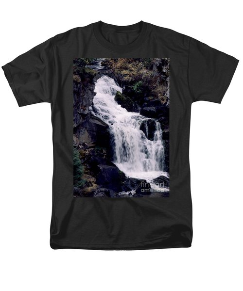 Men's T-Shirt  (Regular Fit) featuring the photograph Cool Clear Waters by Sharon Elliott