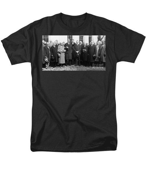 Coolidge: Freemasons, 1929 Men's T-Shirt  (Regular Fit) by Granger