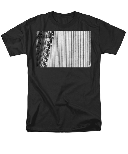Men's T-Shirt  (Regular Fit) featuring the photograph Corinthian Columns by John Schneider