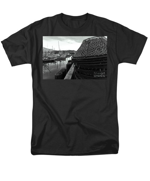 Crab Traps Men's T-Shirt  (Regular Fit) by Darcy Michaelchuk