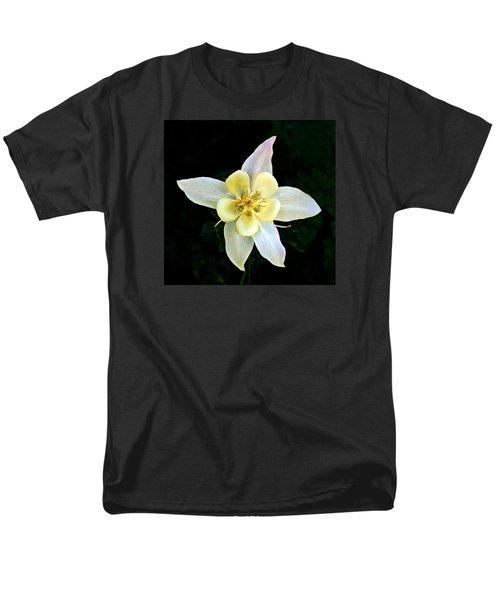 Men's T-Shirt  (Regular Fit) featuring the photograph Creamy Columbine by Nick Kloepping