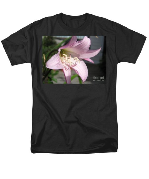 Men's T-Shirt  (Regular Fit) featuring the photograph Crinum Lily Named Powellii by J McCombie