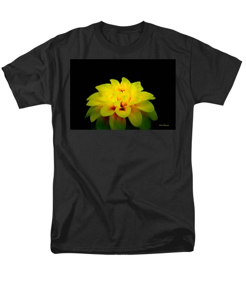 Men's T-Shirt  (Regular Fit) featuring the photograph Dahlia Delight by Jeanette C Landstrom