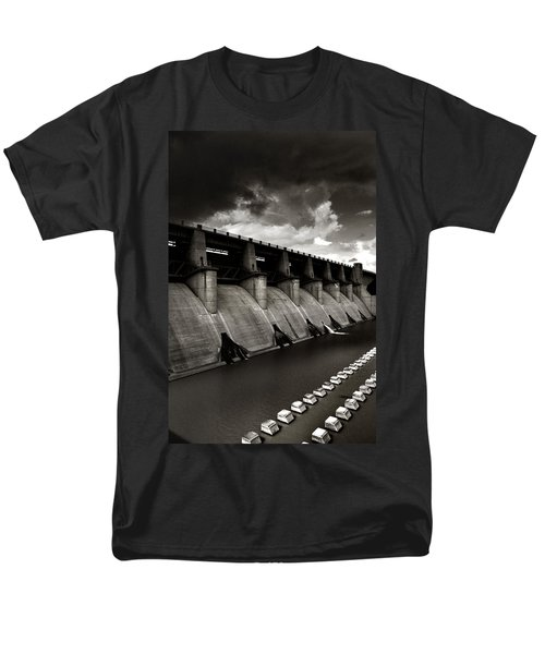 Men's T-Shirt  (Regular Fit) featuring the photograph Dam-it by Brian Duram