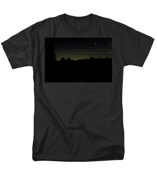 Men's T-Shirt  (Regular Fit) featuring the photograph Dancing Fireflies by Brent L Ander