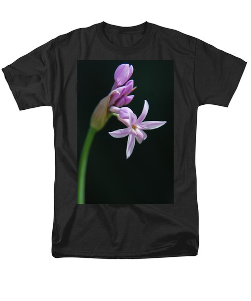 Men's T-Shirt  (Regular Fit) featuring the photograph Flowering Bud by Tam Ryan