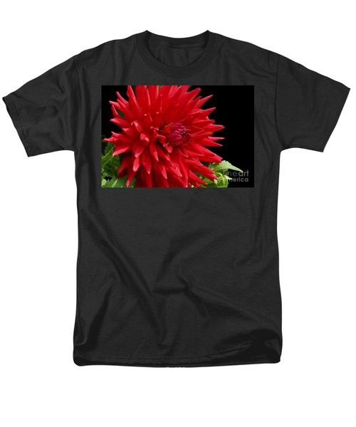 Decked Out Dahlia Men's T-Shirt  (Regular Fit) by Cindy Manero