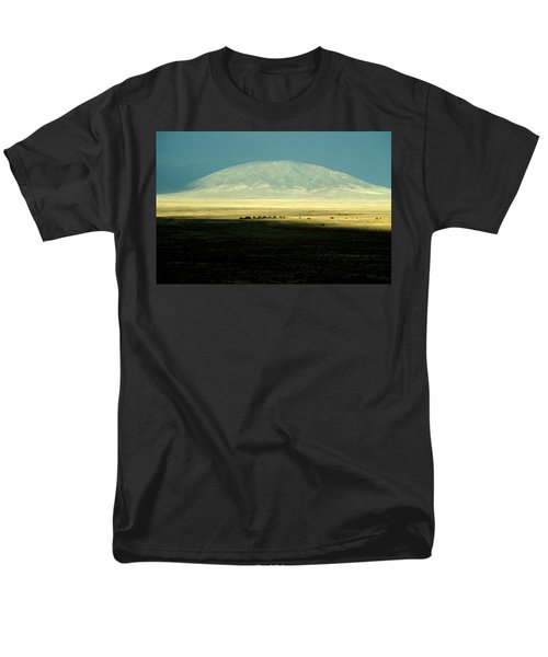 Men's T-Shirt  (Regular Fit) featuring the photograph Dome Mountain by Brent L Ander