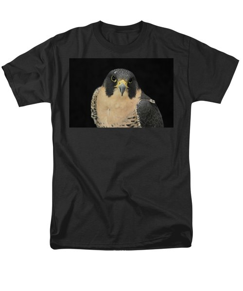 Don't Flinch... I Am Looking At You Men's T-Shirt  (Regular Fit) by Laddie Halupa
