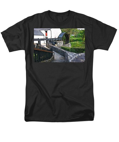 Men's T-Shirt  (Regular Fit) featuring the photograph Down To The Mill by Charlie and Norma Brock