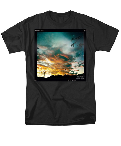 Men's T-Shirt  (Regular Fit) featuring the photograph Drama In The Sky by Nina Prommer