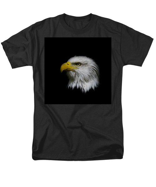 Men's T-Shirt  (Regular Fit) featuring the photograph Eagle Head by Steve McKinzie