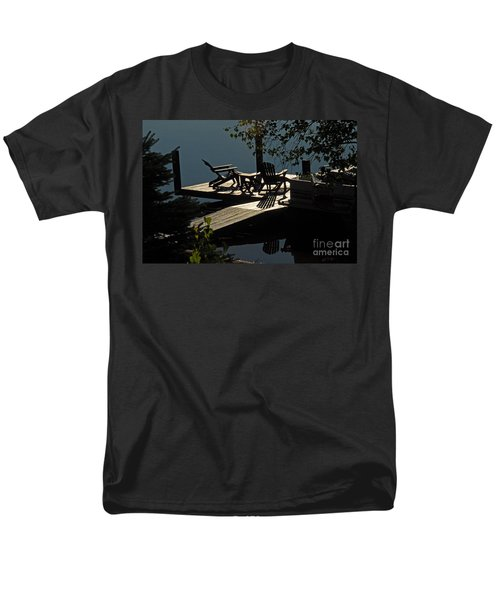 Early Morning At The Lake Men's T-Shirt  (Regular Fit) by Cindy Manero