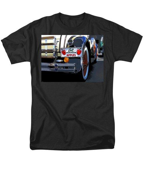 Men's T-Shirt  (Regular Fit) featuring the digital art Eat Washington Apples2 by Anne Mott