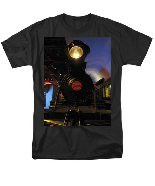 Engine No. 132 Men's T-Shirt  (Regular Fit) by Keith Stokes