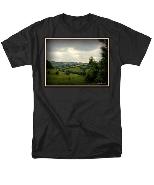 English Countryside Men's T-Shirt  (Regular Fit) by Priscilla Richardson