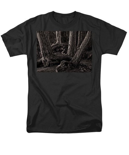 Evening Pines Men's T-Shirt  (Regular Fit) by Ari Salmela