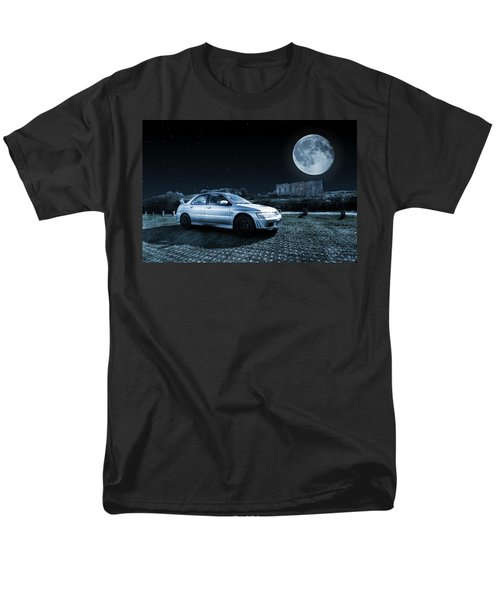 Men's T-Shirt  (Regular Fit) featuring the photograph Evo 7 At Night by Steve Purnell