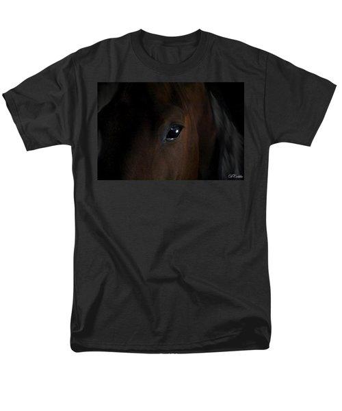 Men's T-Shirt  (Regular Fit) featuring the photograph Eye Of The Beholder by Davandra Cribbie