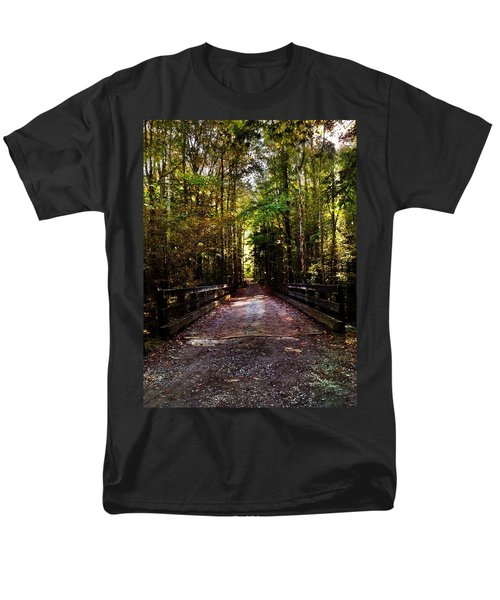 Fall Hiking Trail Men's T-Shirt  (Regular Fit) by Janice Spivey