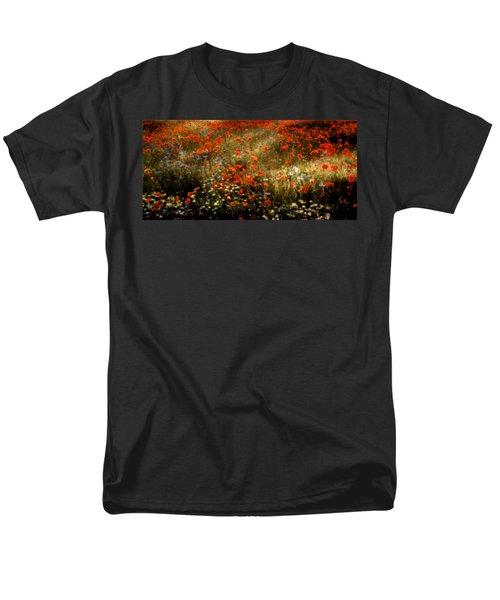 Field Of Wildflowers Men's T-Shirt  (Regular Fit) by Ellen Heaverlo