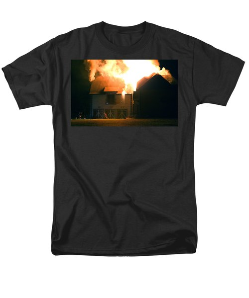Men's T-Shirt  (Regular Fit) featuring the photograph First Responders by Daniel Reed