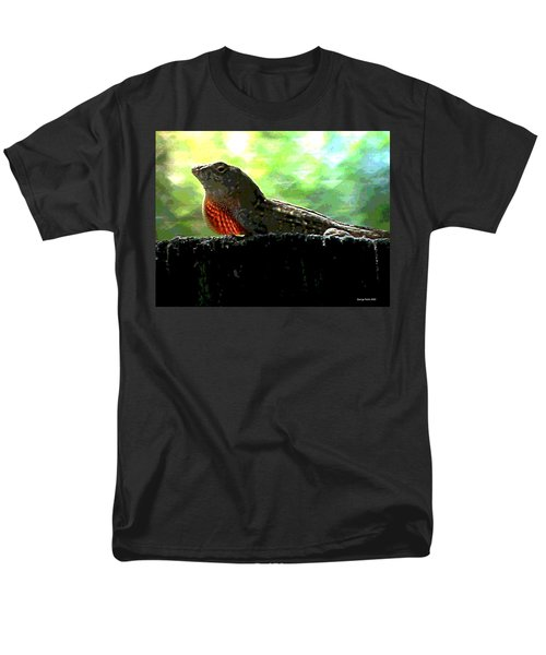 Men's T-Shirt  (Regular Fit) featuring the photograph Florida Dinosaur by George Pedro